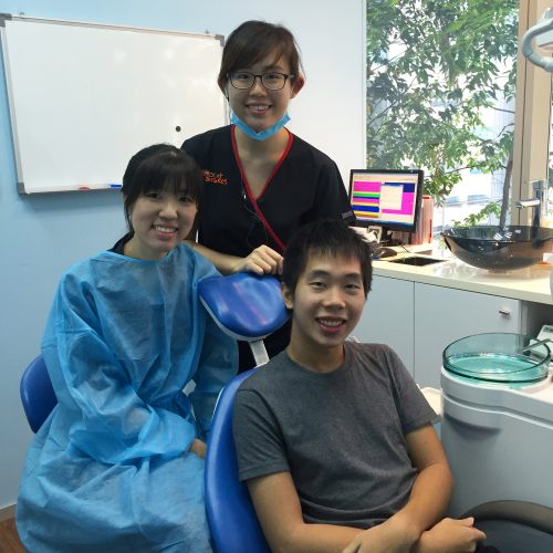 Affordable Braces Singapore - Patient Cheng Hon