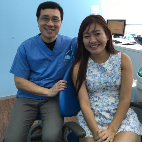 Affordable Braces Singapore - Patient Desmy