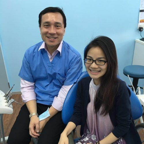 Affordable Braces Singapore - Patient Fiona