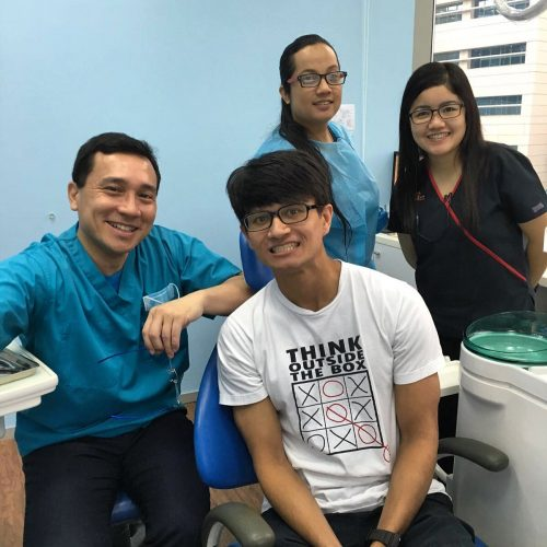 Affordable Braces Singapore - Patient Imran