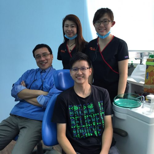 Affordable Braces Singapore - Patient Jerome