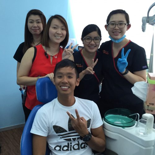 Affordable Braces Singapore - Patient Jie Rong