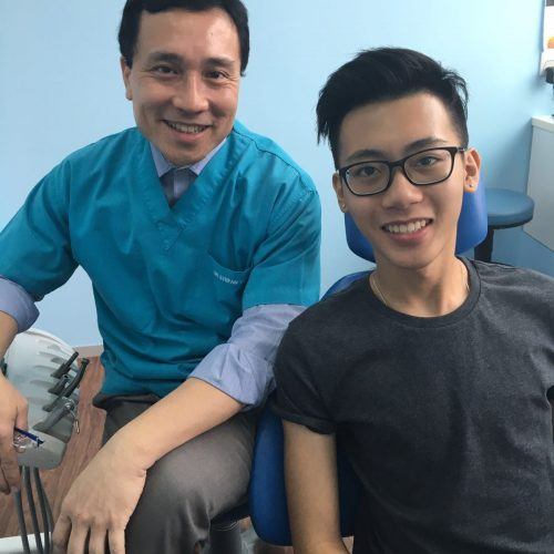 Affordable Braces Singapore - Patient Linus