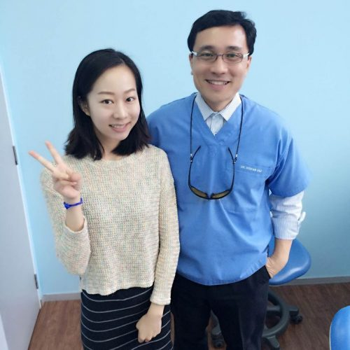 Affordable Braces Singapore - Patient Liu Ying