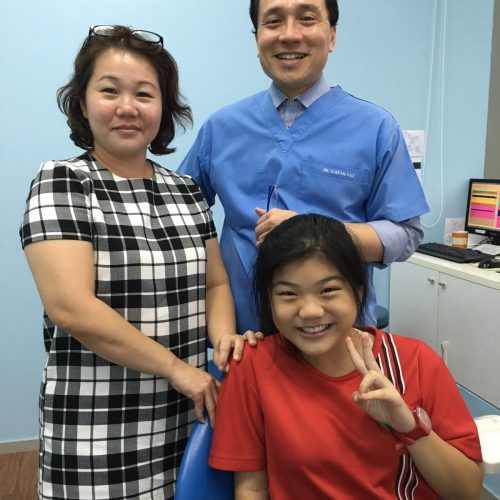 Affordable Braces Singapore - Patient Maybelle