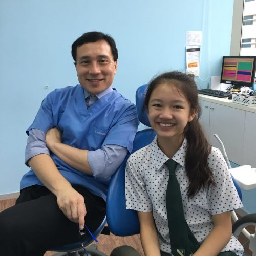 Affordable Braces Singapore - Patient Odelia