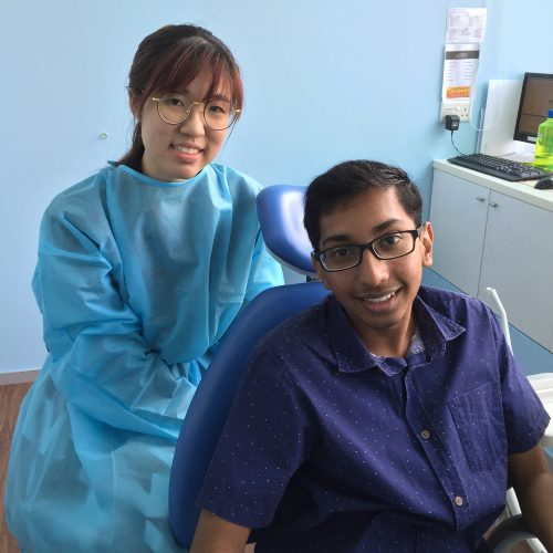 Affordable Braces Singapore - Patient Shiva