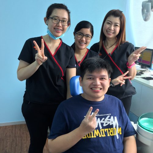 Affordable Braces Singapore - Patient Sugih