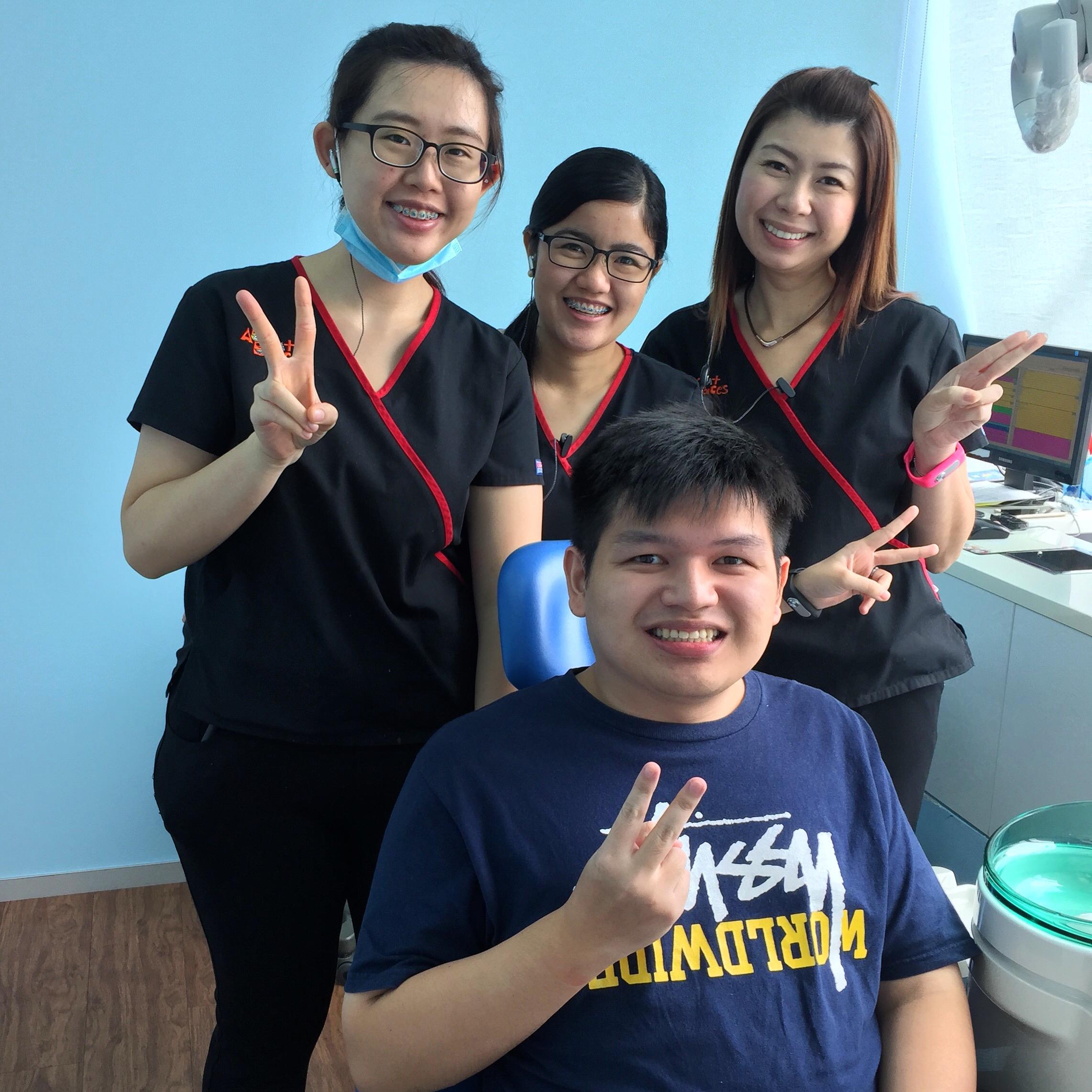 Affordable Braces Singapore - Patient Sugih