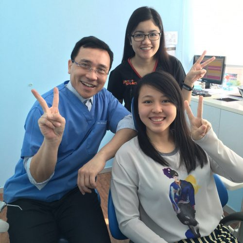 Affordable Braces Singapore - Patient Wan Ting