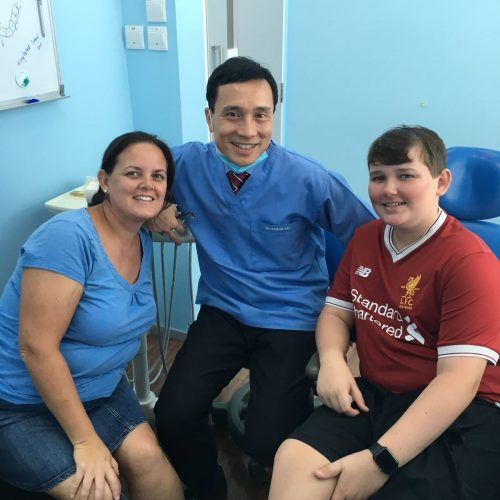 Affordable Braces Singapore - Patient Oliver