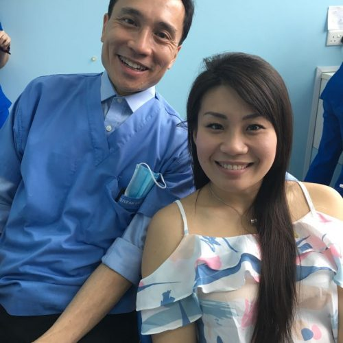 Affordable Braces Singapore - Patient Claudia Tan