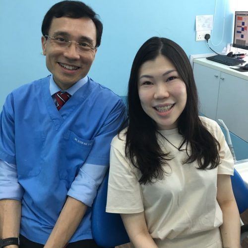 Affordable Braces Singapore - Patient Fiona Ong